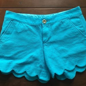 Lilly Pulitzer Blue Shorts